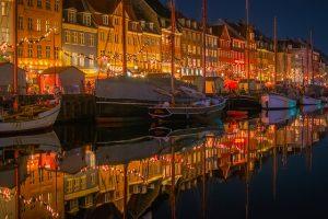 Nabrzeże Nyhavn w Kopenhadze