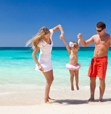 Przeciwsłoneczny namoiot na plażę