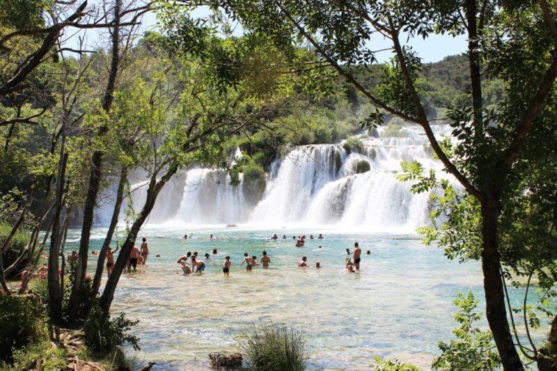 Park Wodospady KRKa