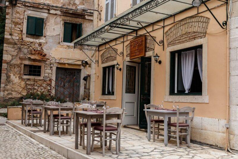Ceny jedzenia na Korfu